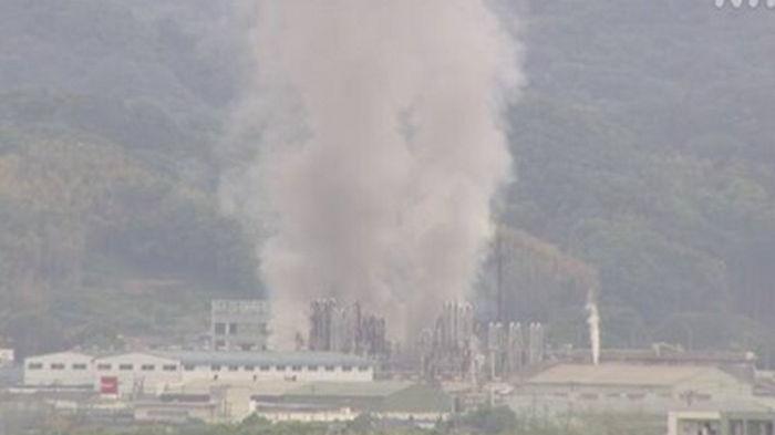 В Японии прогремел взрыв на химзаводе