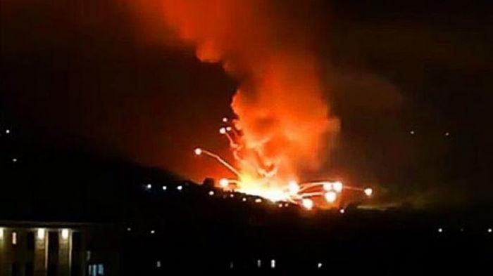 В Сербии на военном складе новый взрыв