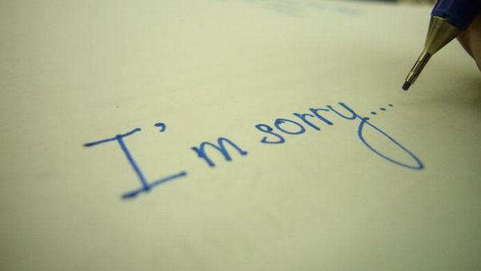 4 типа фальшивых извинений