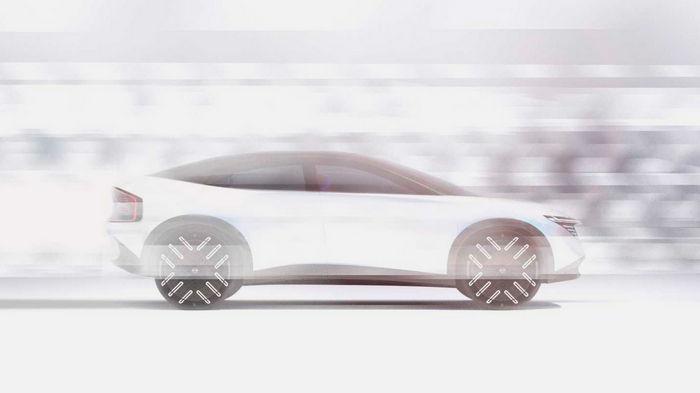 Компания Nissan анонсировала новый электрический кроссовер