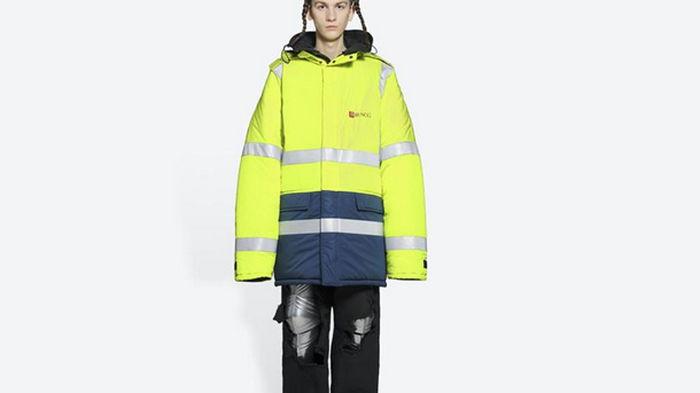 Элитный бренд продает куртку похожую на униформы мусорщиков за $4000 (фото)