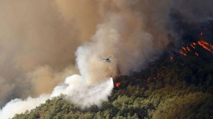 В Турции ливни помогли в борьбе с масштабными лесными пожарами