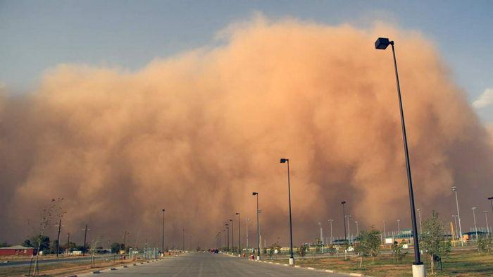 Один из регионов Испании накрыла мощная песчаная буря