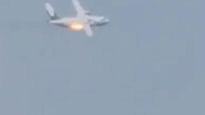 В Подмосковье разбился военный самолет Ил-112В, СМИ сообщают о погибших (видео)