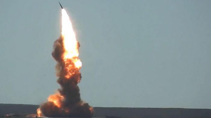 Россия провела испытание ракеты системы ПРО (видео)