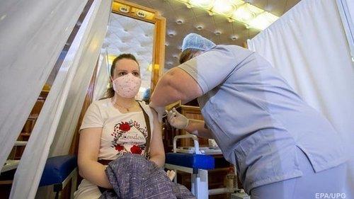 За сутки вакцинировано почти 118 тысяч украинцев