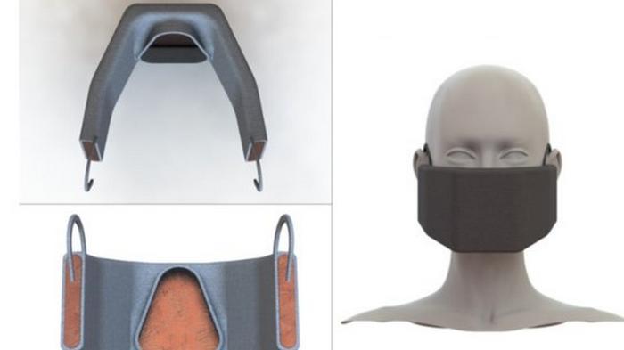 Ученые разрабатывают маску, которая сможет убивать вирусы