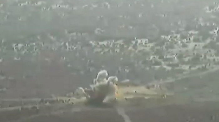 Пакистан испытал управляемую многозарядную ракетную систему (видео)