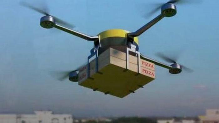 В Израиле тестируют доставку пиццы дронами
